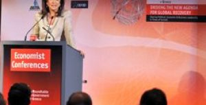 Speech at the Economist Conference