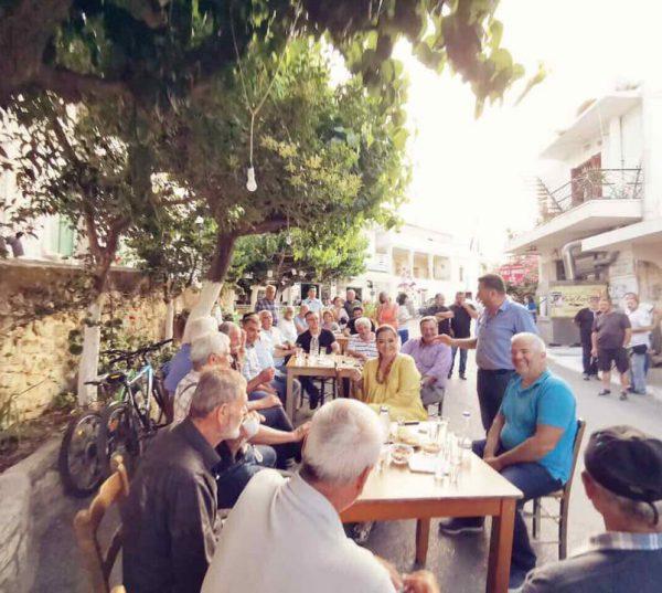Επίσκεψη στο ιστορικό χωριό Κουρνάς του Αποκόρωνα