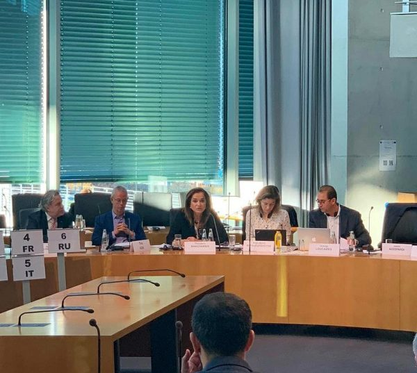 Ομιλία Ντόρας Μπακογιάννη στην Πολιτική Επιτροπή του Council of Europe για τις εξελίξεις στην Συρία